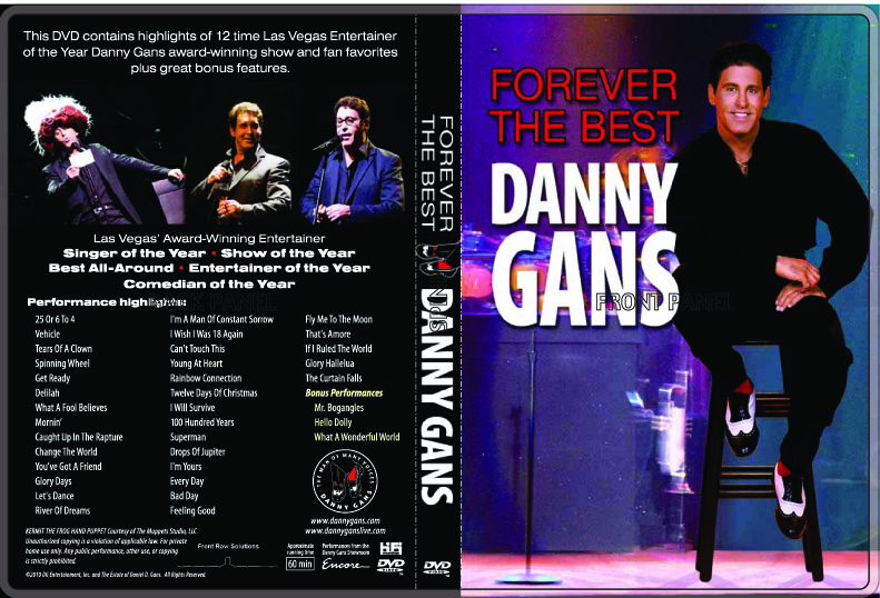 Buy Danny Gans' 2 DVD Set!